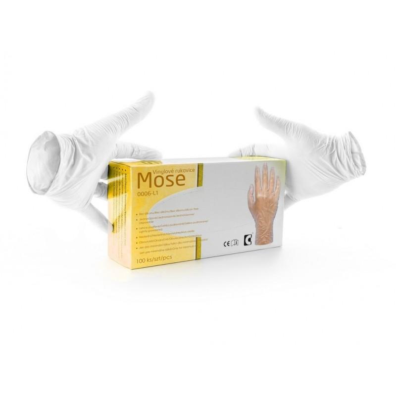 Rukavice MOSE cena za balení 100 ks velikost 8, 9, 10