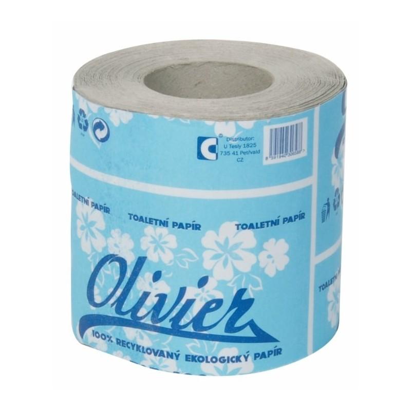 Toaletní papír OLIVIER 25 m, 260 útržků