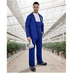 Souprava KLASIK kalhoty s lalcem + blůza, modrá