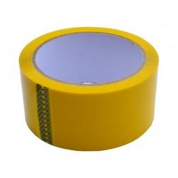 Lepící páska 48x66 žlutá -...