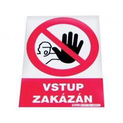 "Tabulka ""Vstup zakázán"",..."