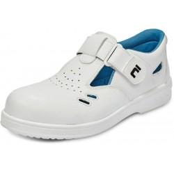 Obuv RAVEN O1 SRC sandál, bílá