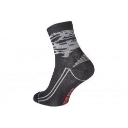 Ponožky KATEA šedo-černé