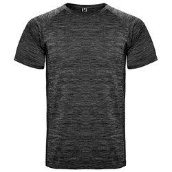 Tričko AUSTIN, krátký rukáv, mnoho barev v melírové variaci