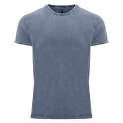 Tričko Husky, džínový vzhled, pánské, barvy: černá, vojenská zeleň, granátová, denim modrá