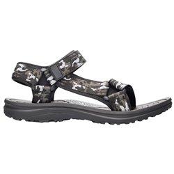 Obuv CAMO, sandál, treková, šedo-černá