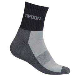 Ponožky GREY, sportovní, šedé