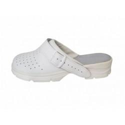 Obuv MISA bílé dámské sandál